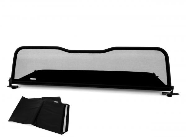 AIRAX Windschott für BMW 4er mit Schnellverschluss im Spiegeldesign und Tasche